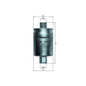 Kupte a vyměňte palivovy filtr MAHLE ORIGINAL KL 182
