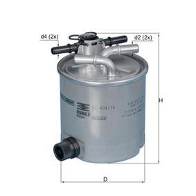 Filtre à carburant KL 404/16 pour RENAULT DUSTER à prix réduit — achetez maintenant!