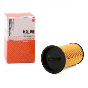 buy and replace Fuel filter MAHLE ORIGINAL KX 69