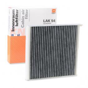 Filter, kupéventilation LAK 54 till rabatterat pris — köp nu!