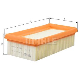Kúpte a vymeňte Vzduchový filter MAHLE ORIGINAL LX 152