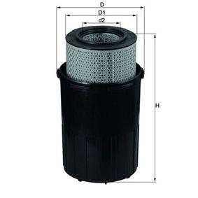 Kup MAHLE ORIGINAL Filtr powietrza LX 388