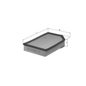 acheter MAHLE ORIGINAL Filtre à air secondaire LXS 215 à tout moment