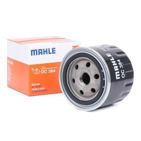 Įsigyti ir pakeisti alyvos filtras MAHLE ORIGINAL OC 384