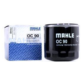 Filtro de óleo OC 90 MAHLE ORIGINAL Pagamento seguro — apenas peças novas