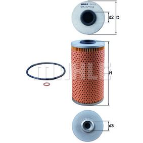 Oil Filter OX 103D for BMW 8 (E31) at a discount — buy now!