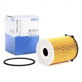 olajszűrő MAHLE ORIGINAL OX 171/2D - vásároljon és cserélje ki!