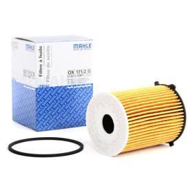 Pērc un aizvieto Eļļas filtrs MAHLE ORIGINAL OX 171/2D