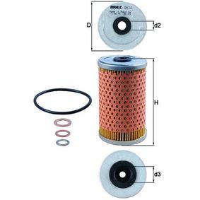 Filtr oleju MAHLE ORIGINAL OX 34D kupić i wymienić