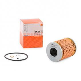 buy and replace Oil Filter MAHLE ORIGINAL OX 68D