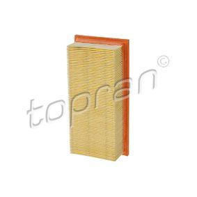 compre TOPRAN Filtro de ar 101 037 a qualquer hora