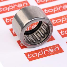 compre TOPRAN Anel de rolamento, cambota 101 052 a qualquer hora