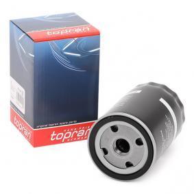 Filtro de óleo 101 090 com uma excecional TOPRAN relação preço-desempenho