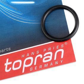 TOPRAN Pierścień uszczelniający, żruba pokrywy chłodnicy 103 007 kupować online całodobowo