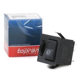 Αγοράστε TOPRAN Διακόπτης, κύρια φώτα 103 422 οποιαδήποτε στιγμή