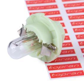 TOPRAN Glühlampe, Instrumentenbeleuchtung 104 367 rund um die Uhr online kaufen
