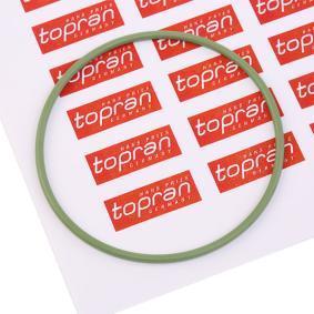 Αγοράστε TOPRAN Φλάντζα, ενδιάμεσος άξονας 104 532 οποιαδήποτε στιγμή