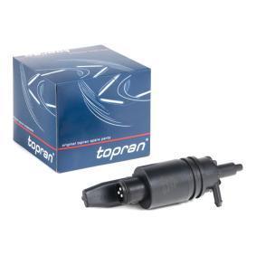 Pompa acqua lavaggio, Tergicristallo TOPRAN 107 282 comprare e sostituisci