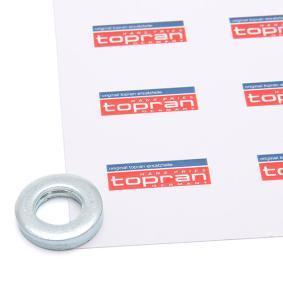 опорен пръстен, опорен лагер на макферсън 107 362 с добро TOPRAN съотношение цена-качество