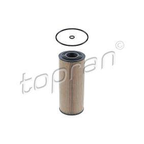 Filtro de óleo 108 007 com uma excecional TOPRAN relação preço-desempenho