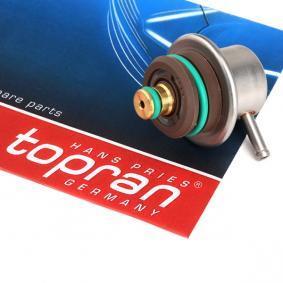 acheter TOPRAN Régulateur de pression du carburant 108 125 à tout moment