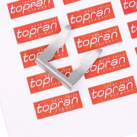 Supporto, Flessibile freno TOPRAN 108 716 comprare e sostituisci