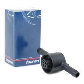 TOPRAN Ventil, Kraftstofffilter 109 069 Günstig mit Garantie kaufen