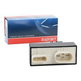 TOPRAN Relè, Incidenza ventola radiatore 110 825 acquista online 24/7