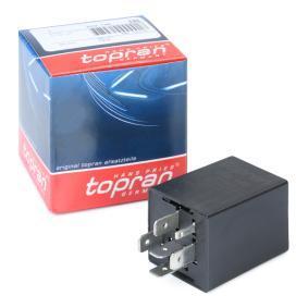 TOPRAN Relè, Intervallo tergicristallo 202 146 acquista online 24/7