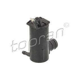 TOPRAN Pompa acqua lavaggio, Tergicristallo 300 345 acquista online 24/7