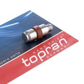 acheter TOPRAN Poussoir de soupape 302 639 à tout moment
