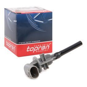 TOPRAN датчик, ниво на спирачната течност 501 311 купете онлайн денонощно