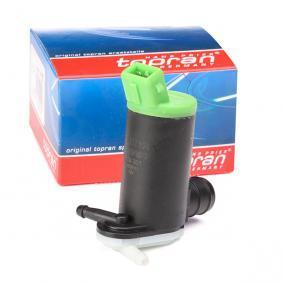 Pompa acqua lavaggio, Tergicristallo TOPRAN 720 301 comprare e sostituisci