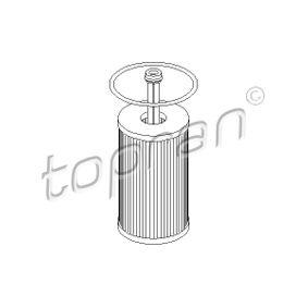 Filtro de óleo 720 802 com uma excecional TOPRAN relação preço-desempenho