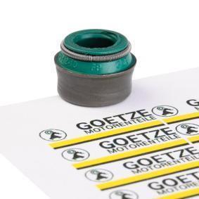 GOETZE гумичка на клапан, уплътн. пръстен, стъбло на кл. 50-306670-50 купете онлайн денонощно