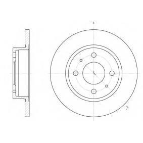 Disco de travão S6044010 SAKURA Pagamento seguro — apenas peças novas