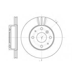 Disco de travão S6044425 SAKURA Pagamento seguro — apenas peças novas