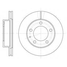 Bremsscheiben S6043600 SAKURA Sichere Zahlung - Nur Neuteile