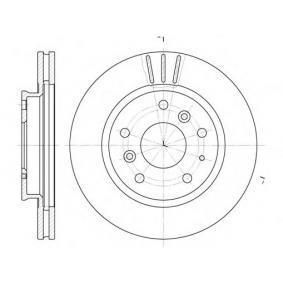 Bromsskiva S6043530 SAKURA Säker betalning — bara nya delar