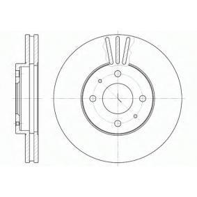 Disco freno S6044120 SAKURA Pagamento sicuro — Solo ricambi nuovi
