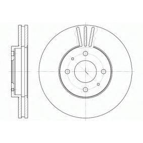 Bromsskiva S6044120 SAKURA Säker betalning — bara nya delar