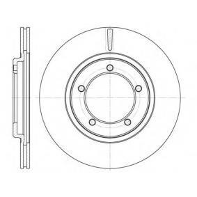 Disco freno S6044430 SAKURA Pagamento sicuro — Solo ricambi nuovi