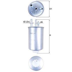 Filtro carburante MAHLE ORIGINAL KL 505 comprare e sostituisci