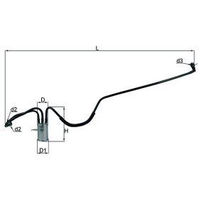 Kupte a vyměňte palivovy filtr MAHLE ORIGINAL KL 553