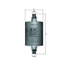 palivovy filtr KL 40 pro PORSCHE nízké ceny - Nakupujte nyní!