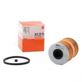 Kupte a vyměňte palivovy filtr MAHLE ORIGINAL KX 78D