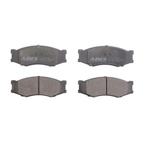 комплект спирачно феродо, дискови спирачки C11011ABE с добро ABE съотношение цена-качество