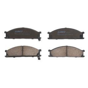 комплект спирачно феродо, дискови спирачки C11039ABE с добро ABE съотношение цена-качество