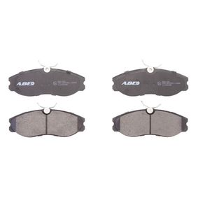 комплект спирачно феродо, дискови спирачки C11056ABE с добро ABE съотношение цена-качество
