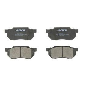 Jogo de pastilhas para travão de disco C14019ABE com uma excecional ABE relação preço-desempenho